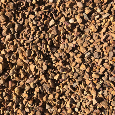 brown 13mm gravel stone