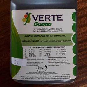 Guano fertilizer