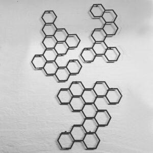 All 3 urbanic garden hexagonal trellis